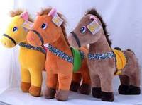 Мягкая игрушка Лошадь №98549,подарки для детей,пушистая,качественная, лучший подарок для малышей