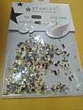 Декор для дизайна ногтей камни микс+металлические фигурки, 1400 шт, 2 вида, фото 2