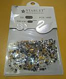 Декор для дизайна ногтей камни микс+металлические фигурки, 1400 шт, 2 вида, фото 6