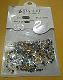 Декор для дизайна ногтей камни микс+металлические фигурки, 1400 шт, 2 вида, фото 7