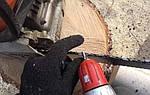 Как заточить цепь бензопилы своими руками при помощи дрели или шуруповерта
