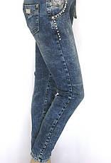Жіночі  джинси boyfriend з стразами   Speedway, фото 2