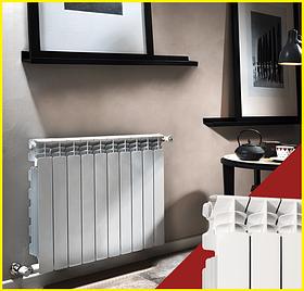 Алюминиевые радиаторы Fondital Exclusivo 350/100 B4, Италия