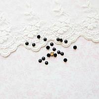 Глазки-Полубусины для Кукол Пластиковые 5 пар Круглые 4 мм