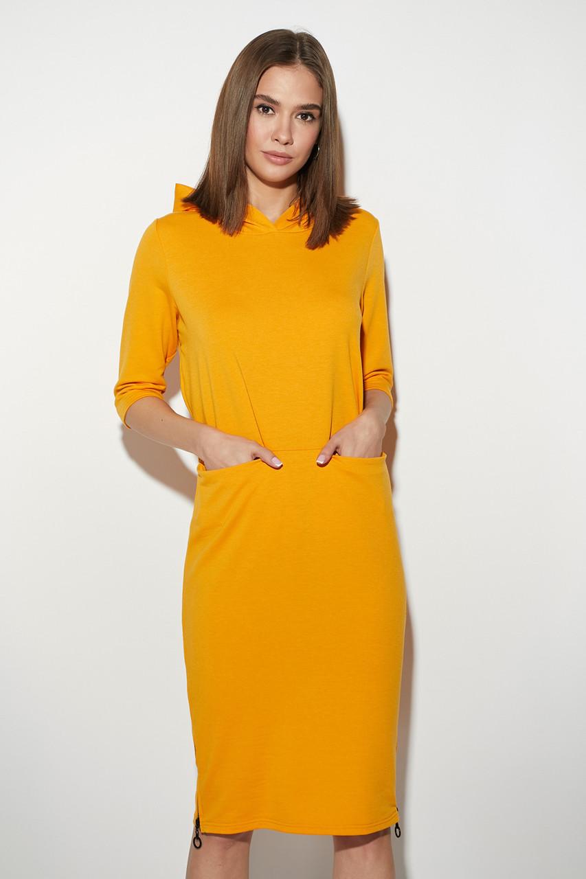Платье модное с капюшоном Аванш, фото 1