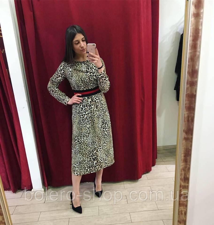 Женское платье LIU JO Италия леопард