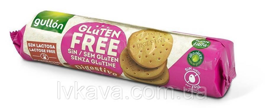 Печенье без глютена и лактозы  Gullon Digestive , 150 гр