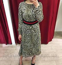 Женское платье LIU JO Италия леопард, фото 3