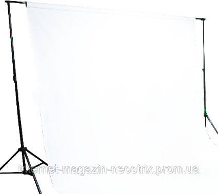 Студийный бумажный фон The BD Company 1,35х11 м (белый) 129 SUPER WHITE