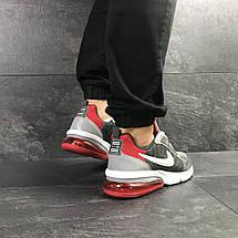 Мужские весенние кроссовки Nike,серые с красным 46р, фото 2