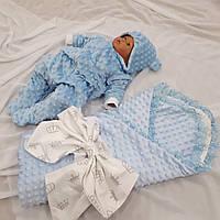 Человечек + конверт для новорожденных