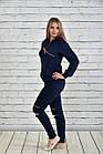 Синій спортивний костюм 0336-2, фото 3