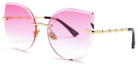 Солнцезащитные очки женские розовый цвет,  sun glasses, фото 2