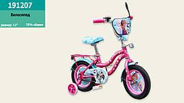 "Велосипед 2-х колес. 12"", СОБРАН НА 75%, со звонком, зеркалом, без ручного тормоза"