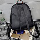Рюкзак женский чёрный PU с надписями Love, фото 8