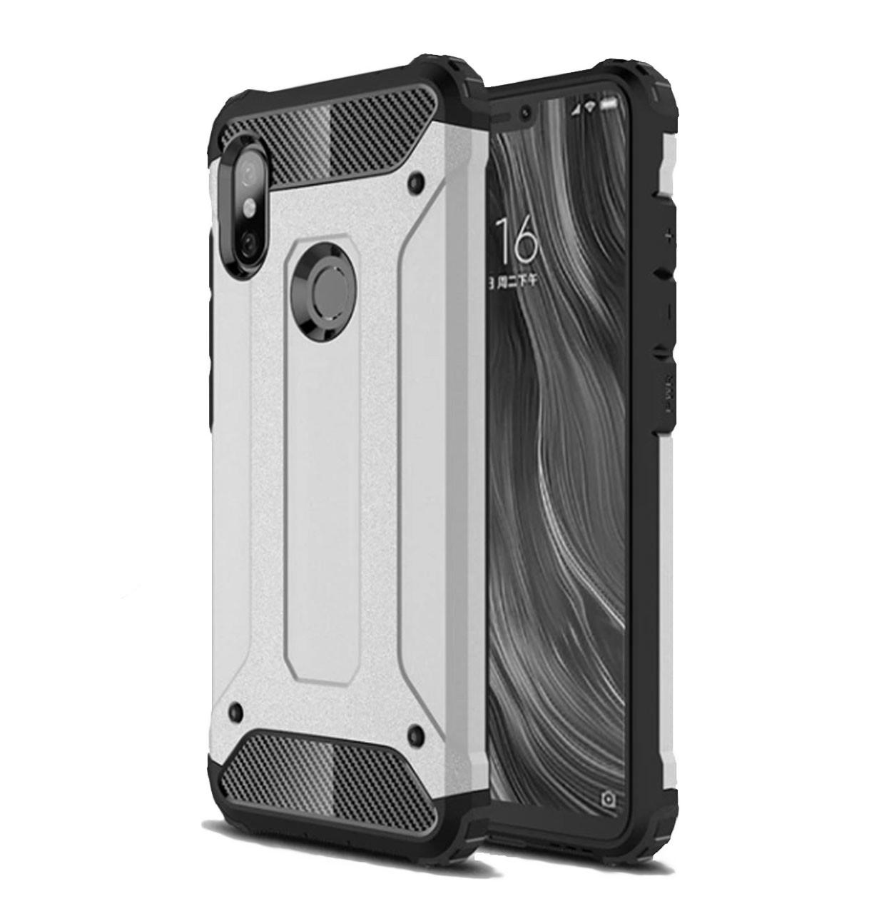 buy popular 2119f 8737c Бронированный противоударный TPU+PC чехол SPIGEN для Xiaomi Mi A2 Lite /  Redmi 6 Pro Silver: продажа, ...
