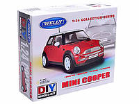 Сборная модель Mini Cooper, фото 1