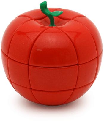 Головоломка Рубика YJ Apple Cube 3x3x3 (Вайджей Епл куб 3х3х3), Червоний