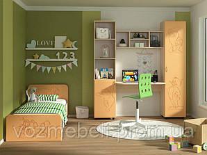 Детская Джерри + кровать (МДФ)
