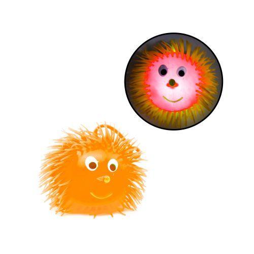 """Светяшка-прыгун """"Ёжик"""", 14 см (оранжевый) PR448"""