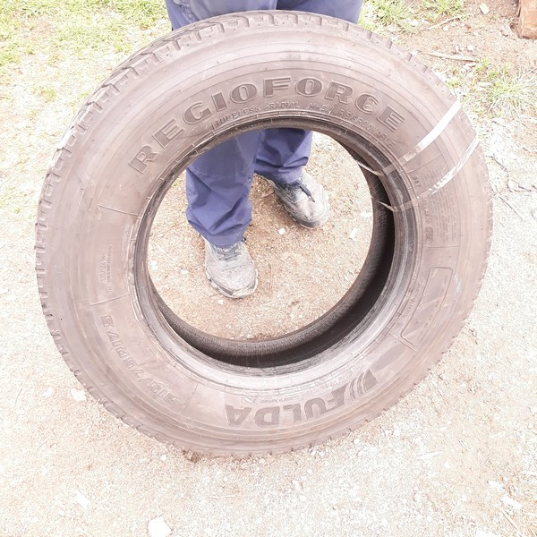 Грузовые шины б.у. / резина бу 215.75.r17.5 Fulda Regioforce Фулда