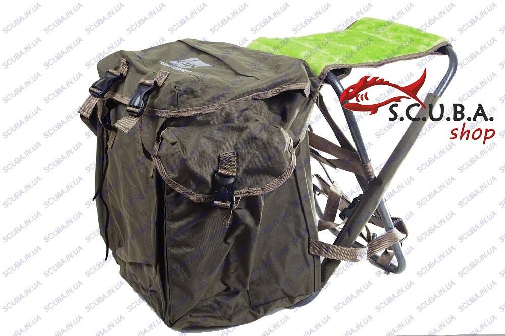Рыболовный складной Стул-рюкзак EOS YD06Y01 - Интернет-магазин Scuba ... 2349d02a6ac