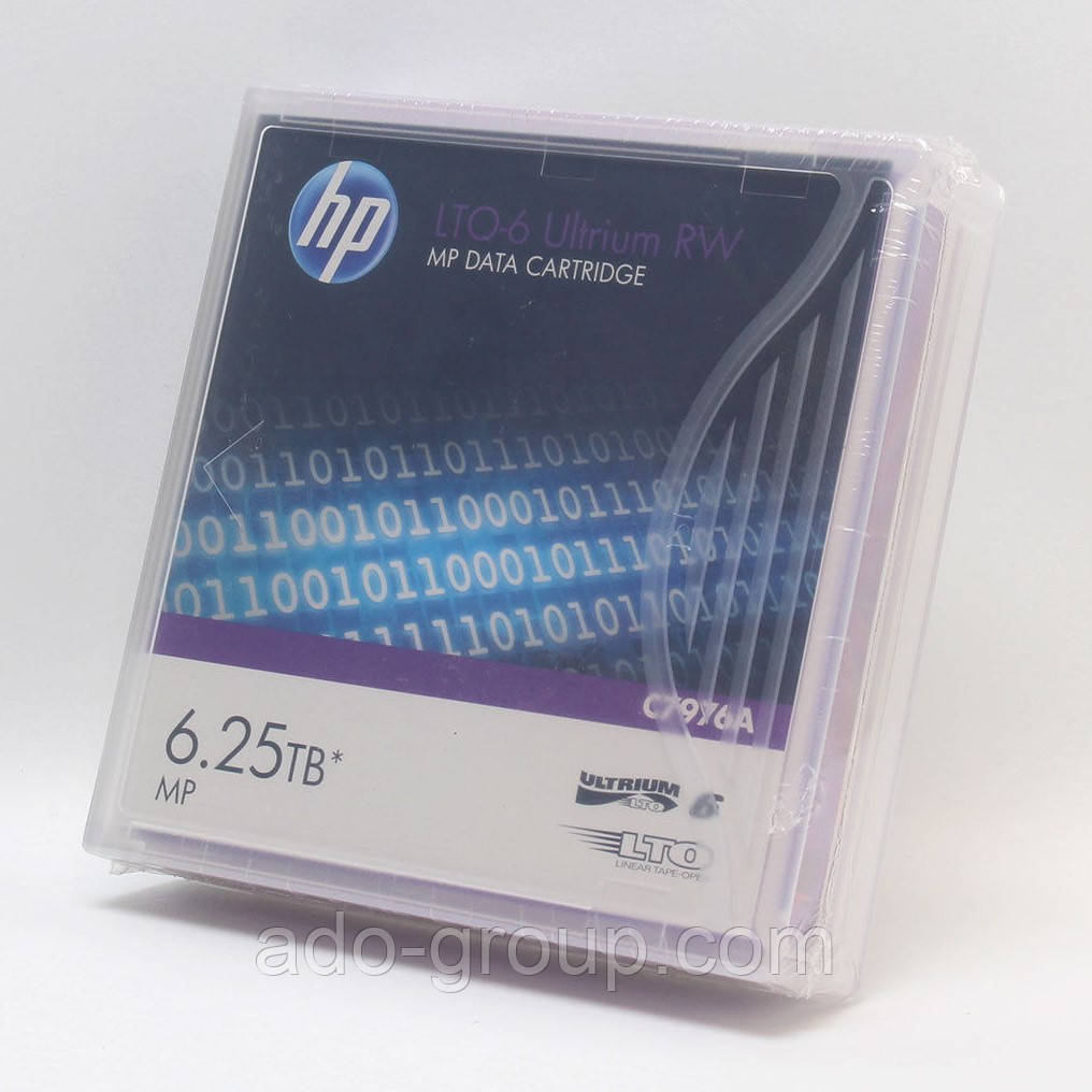 C7976A Картридж HP LTO-6 Ultrium Data Cartridge