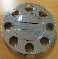 Колпак колеса уневерсальный хром 19,5 8 отверстий нержавеющая сталь
