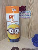 Детский шампунь-кондиционер Despicable Me Minion 2in1 Shampoo & Conditioner | 400мл, Англия