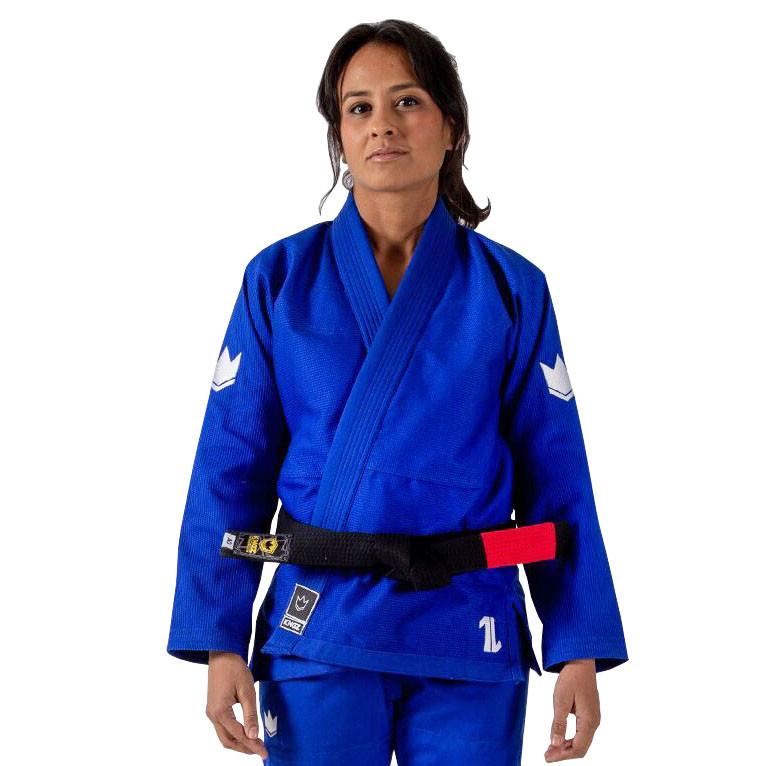 Женское кимоно для Джиу-Джитсу KINGZ The One Синее