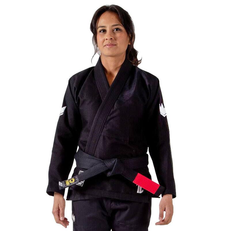 Женское кимоно для Джиу-Джитсу KINGZ The One Черное