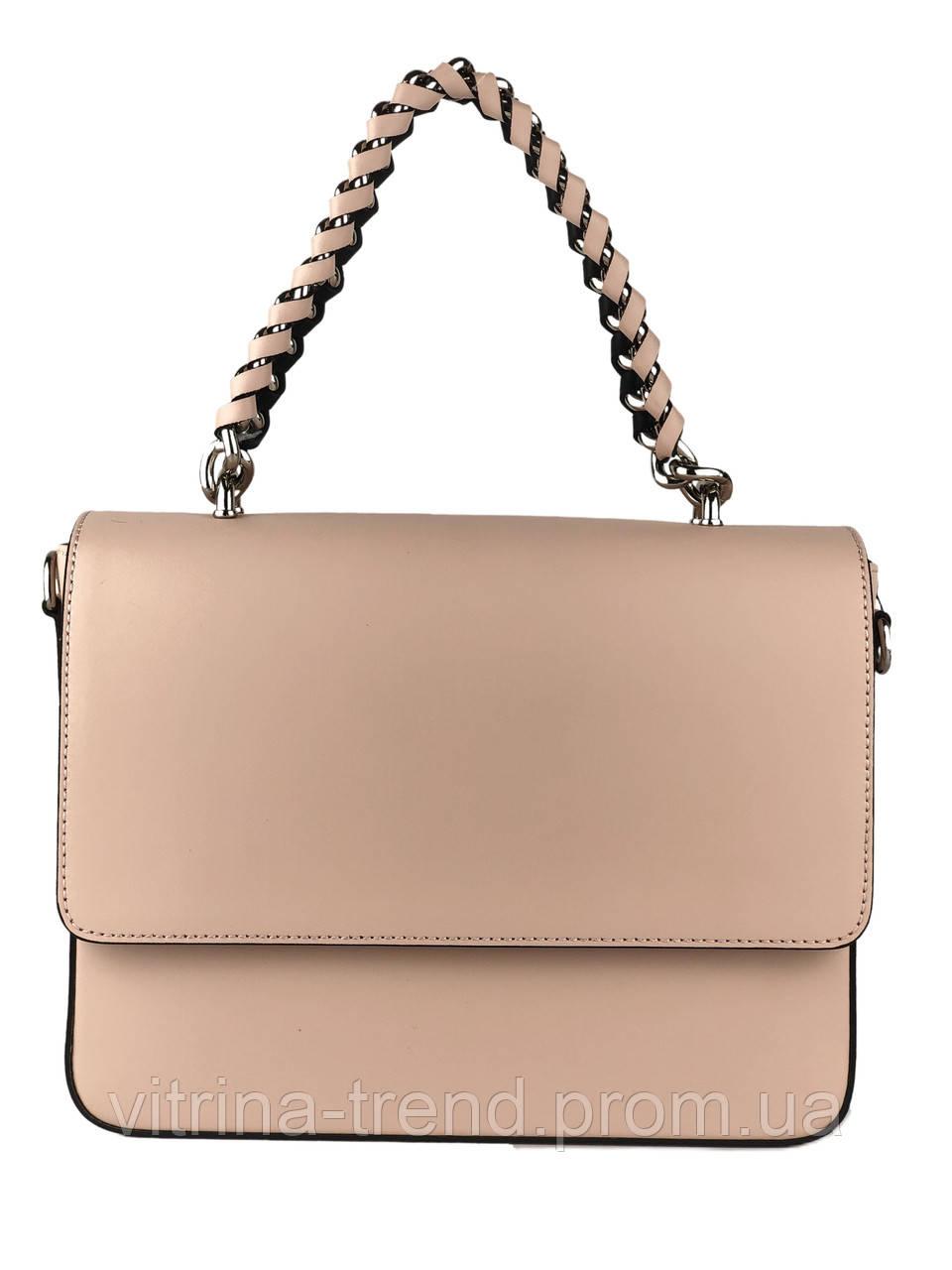 2da69a941ae6 Кожаная женская сумочка с оригинальной ручкой, цена 1 650 грн ...