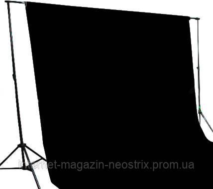 Студийный бумажный фон The BD Company 1,35х11 м (черный) 101 BLACK