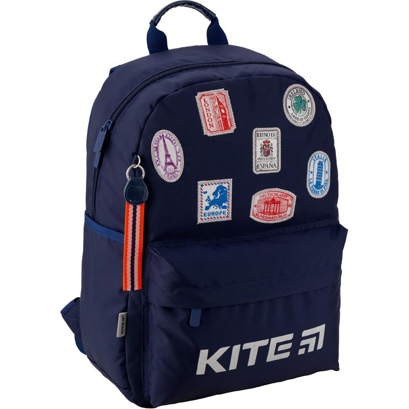 b4089d31a6b8 Рюкзак школьный Kite Education Trips 38x26x11 см 12 л Синий - Bag Travel  Box в Одессе