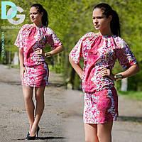Платье стильное летнее А 16.1 гл $