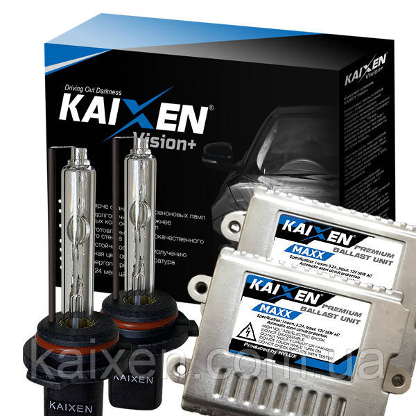 Ксенон 9005/HB3 5000K 35W 3800Lm KAIXEN MAXX