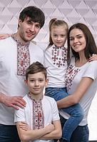 Вышитая одежда для всей семьи, аксессуары к ним