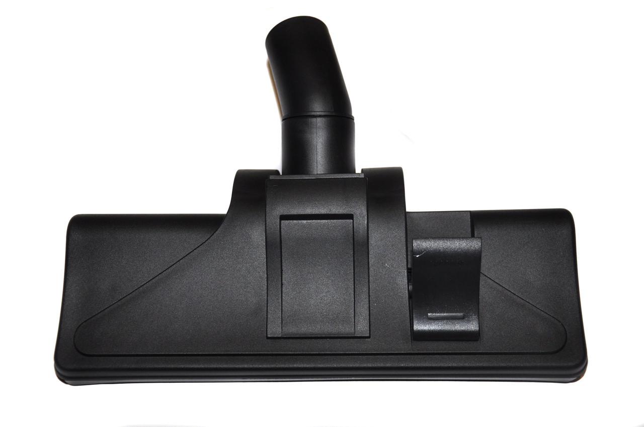 Щетка ковровая Ø-35 одна клавиша, закрытые колесики