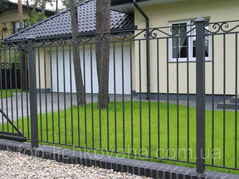 Сварной забор для дома