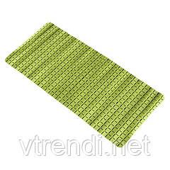 Коврик в ванную комнату Bathlux Green Leaves 40205 антискользящий резиновый 35х78 см R132552