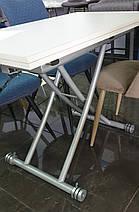 Стіл TMT-20 дуб білений 100*57-114*22-76,8, фото 3