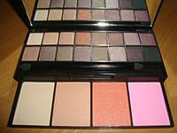 Набор для макияжа Палитра теней и румян 20 цв перламутровые цвета, фото 1