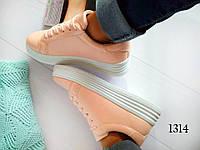 Женские кроссовки, цвет розовый, фото 1
