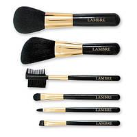 Набор из 6 кистей для макияжа в футляре Lambre Brush Set - 142236