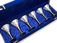 Набор бокалов из бронзы