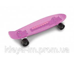 Скейт малиновый, 56 x 15, максимальная нагрузка 80 кг