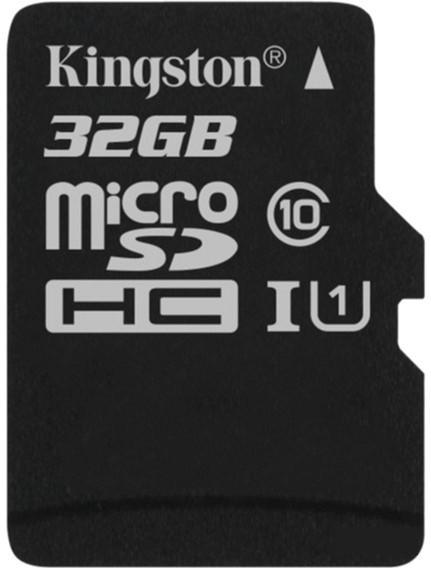Карта памяти Kingston microSD C10 UHS-I Canvas Select [SDCS/32GBSP]
