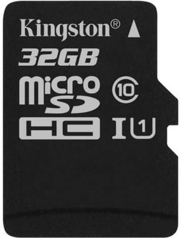 Карта памяти Kingston microSD C10 UHS-I Canvas Select [SDCS/32GBSP], фото 2