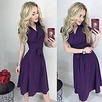 Женское нежное платье (норма и батал)