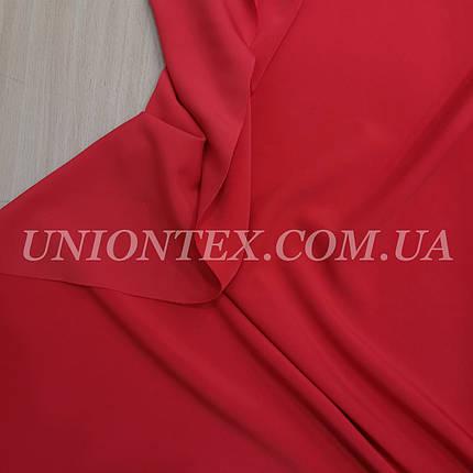 Костюмная ткань анжелика красная, фото 2